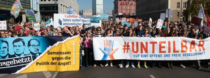 Kundgebung gegen Rassismus in Berlin - Foto: Paul Zinken