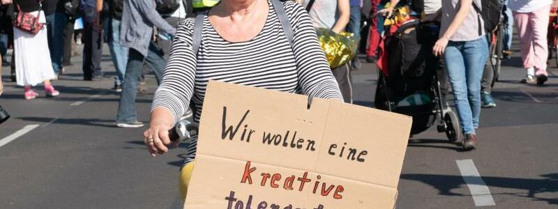 Für Toleranz - Foto: Paul Zinken