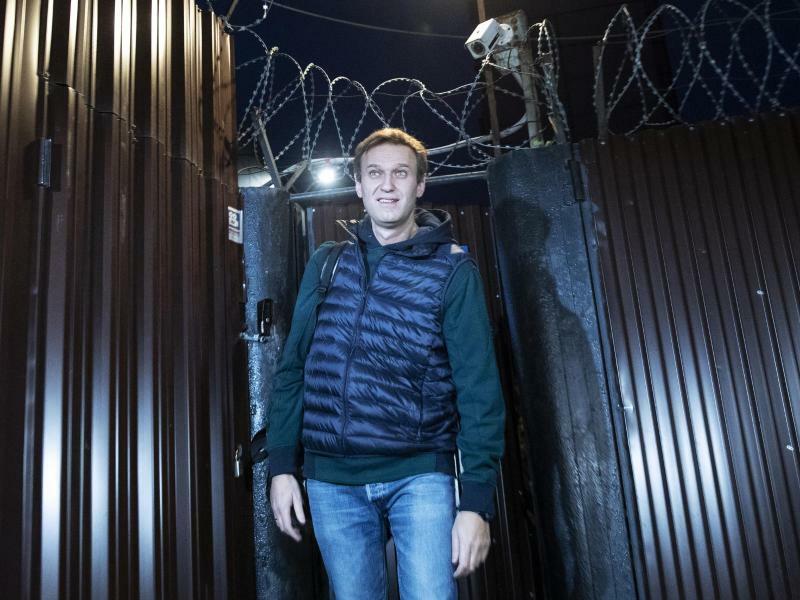 Alexei Nawalny - Foto: Pavel Golovkin
