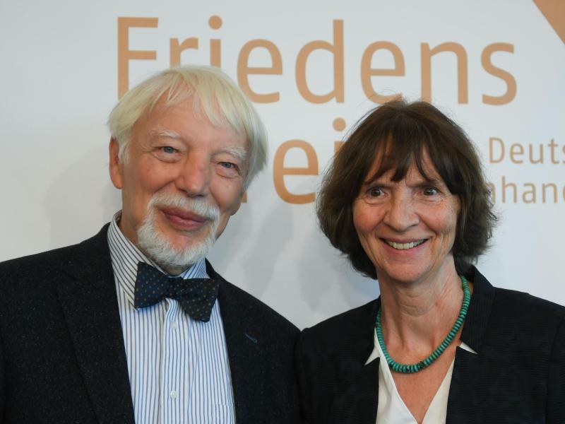 Aleida und Jan Assmann - Foto: Arne Dedert