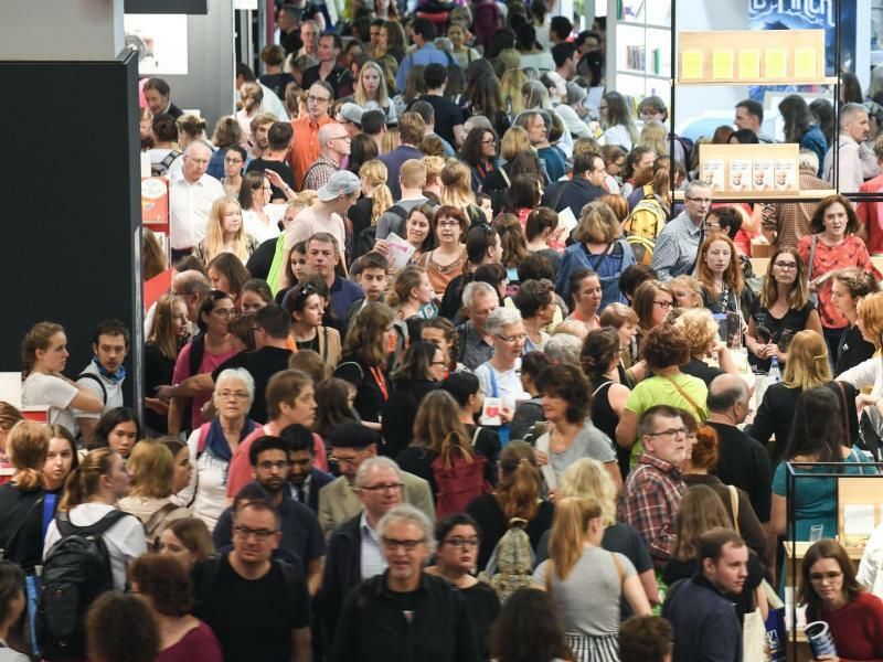 Buchmesse Frankfurt - Foto: Arne Dedert
