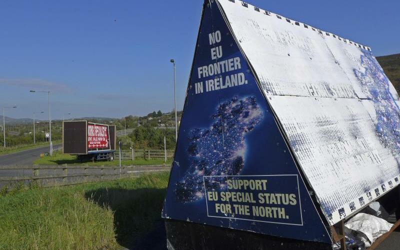Irisch-nordirische Grenze - Foto: Lorne Cook/AP