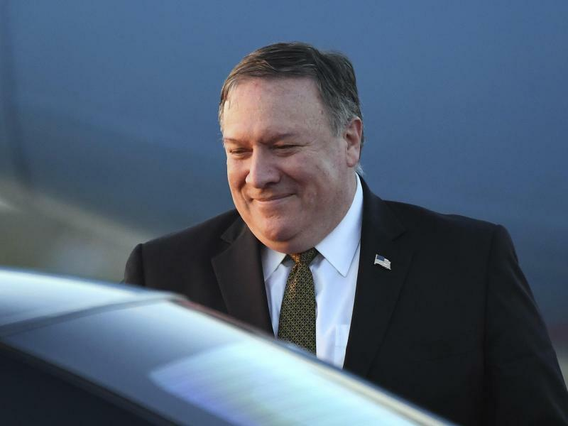 Mike Pompeo - Foto: Jung Yeon-Je/Pool AFP/AP/Archiv
