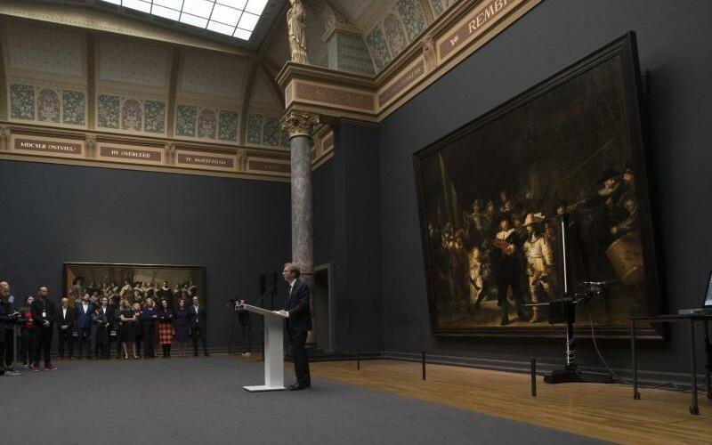 Rembrandt - Foto: Peter Dejong/AP