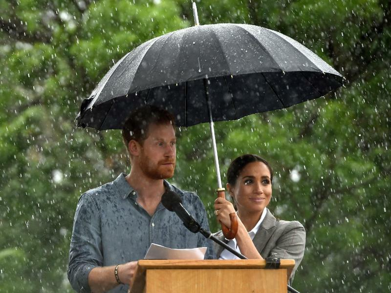 Prinz Harry und Meghan in Australien - Foto: Peter Parks