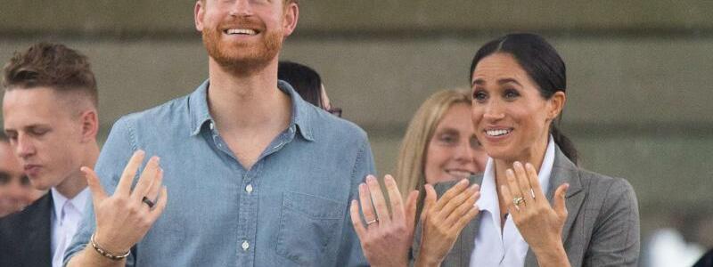 Prinz Harry und Meghan in Australien - Foto: Dominic Lipinski