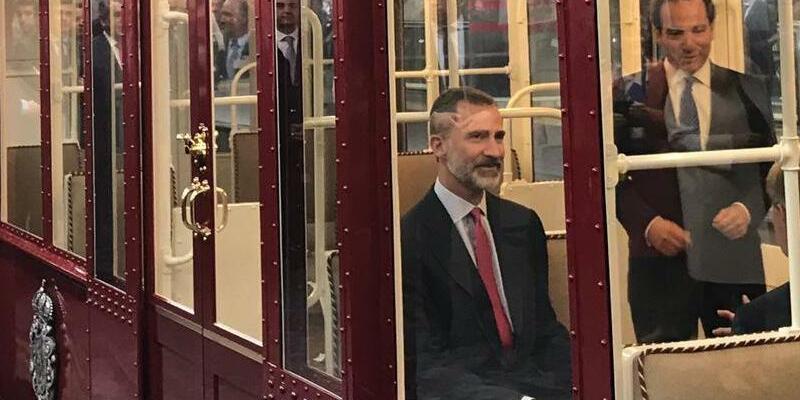 Felipe fährt U-Bahn - Foto: Europa Press