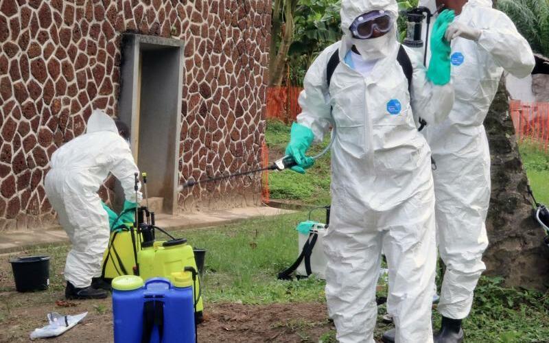 Ebola-Bekämpfung im Kongo - Foto: John Bompengo/AP