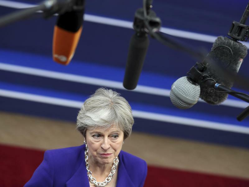 Brexit in Brüssel - Foto: Im Drama um den britischen EU-Austritt ist kein Ende in Sicht. Der Brexit-Gipfel in Brüssel brachte am Mittwochabend keine entscheidenden Fortschritte, vereinbarte aber zumindest die Fortsetzung der Verhandlungen. Foto:Francisco Seco