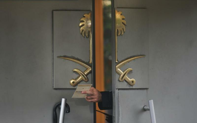 Konsulat in Istanbul - Foto: Petros Giannakouris/AP