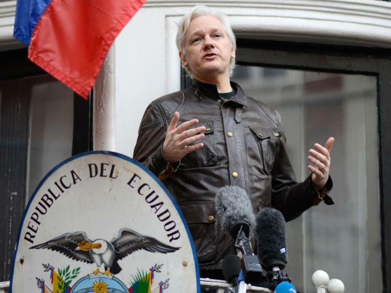 Julian Assange - Foto: Constantin Eckner/Archiv