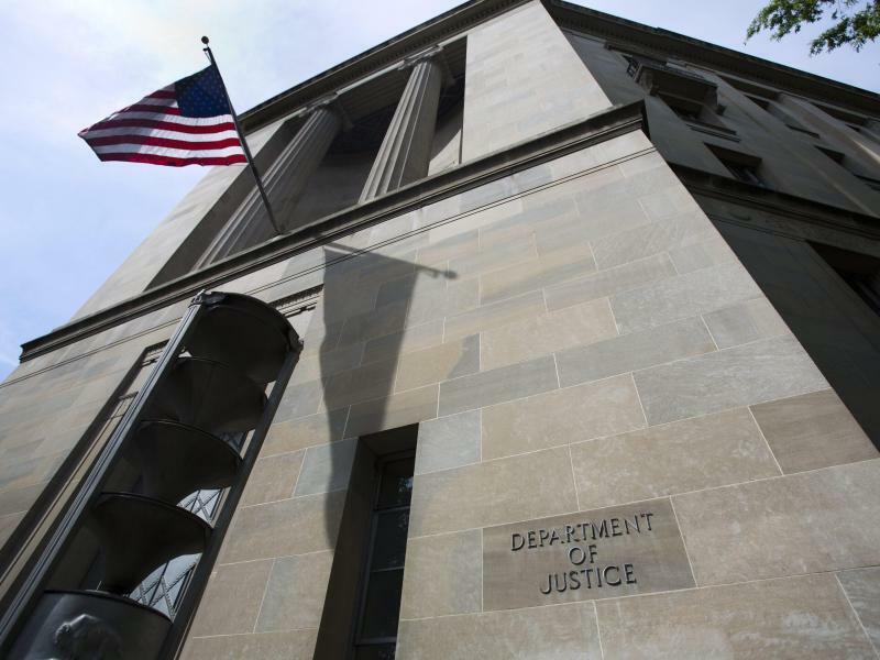 US-Justizministerium - Foto: Jim Lo Scalzo/EPA/Archiv