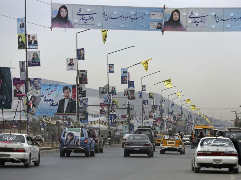 Parlamentswahlen in Afghanistan - Foto: Rahmat Gul/AP