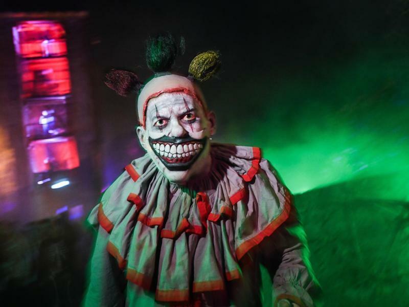 Horror-Clown - Foto: Andreas Arnold
