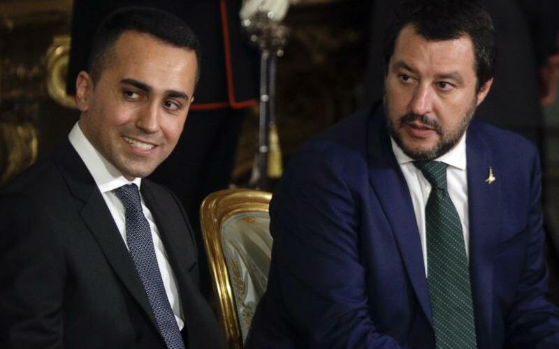 Luigi Di Maio und Matteo Salvini - Foto: Gregorio Borgia/AP/Archiv