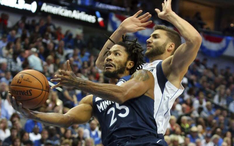 Dallas Mavericks - Minnesota Timberwolves - Foto: Richard W. Rodriguez/FR170526 AP