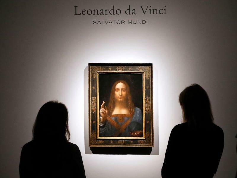 Leonardo da Vinci - Foto: Kirsty Wigglesworth/AP