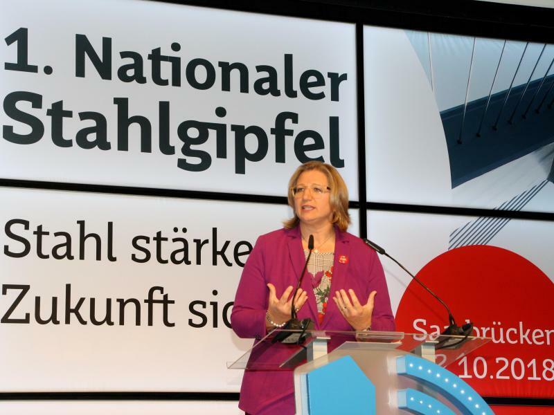 Anke Rehlinger - Foto: Katja Sponholz