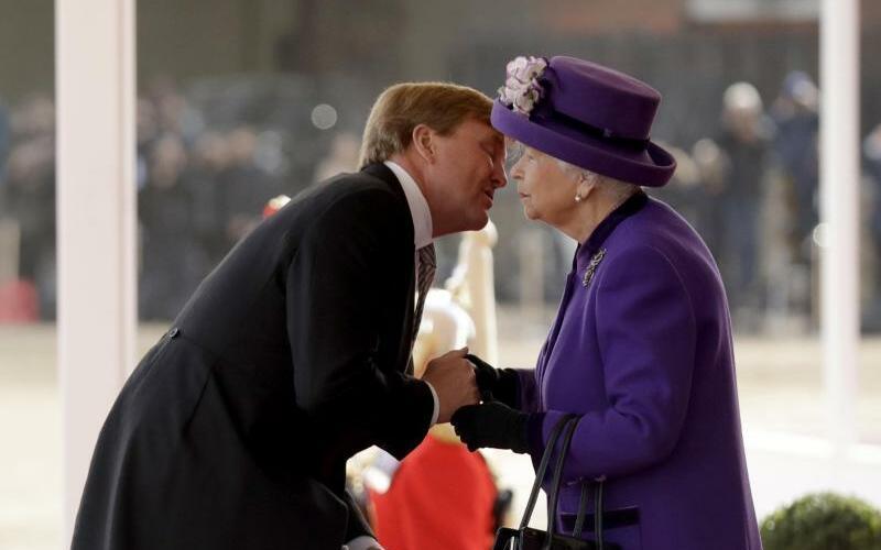 Niederländisches Königspaar in Großbritannien - Foto: Matt Dunham
