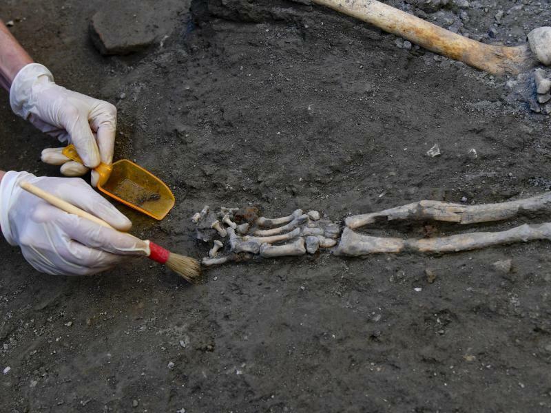 Ausgrabungsstätte Pompeji - Foto: Ciro Fusco/ANSA/AP