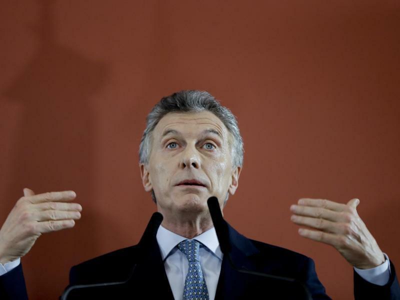 Mauricio Macri - Foto: Natacha Pisarenko/AP