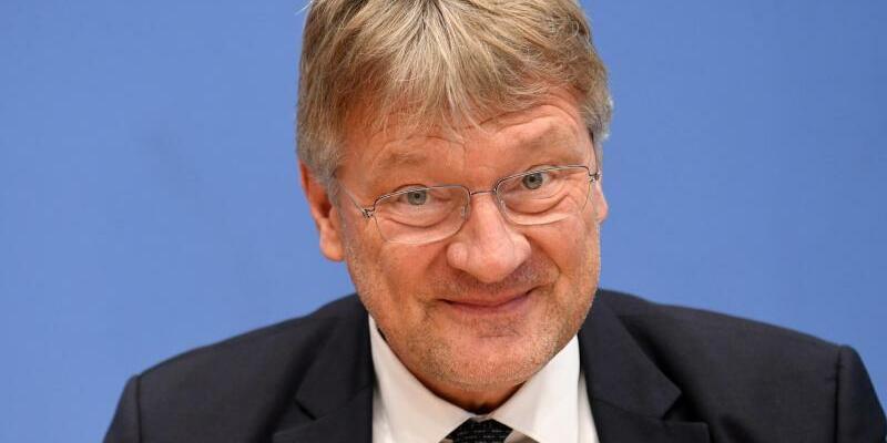 AfD-Chef Jörg Meuthen - Foto: Ralf Hirschberger