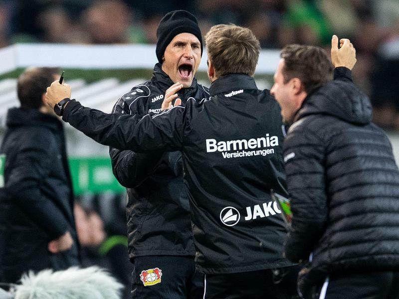 Bayer-Trainer - Foto: Marius Becker