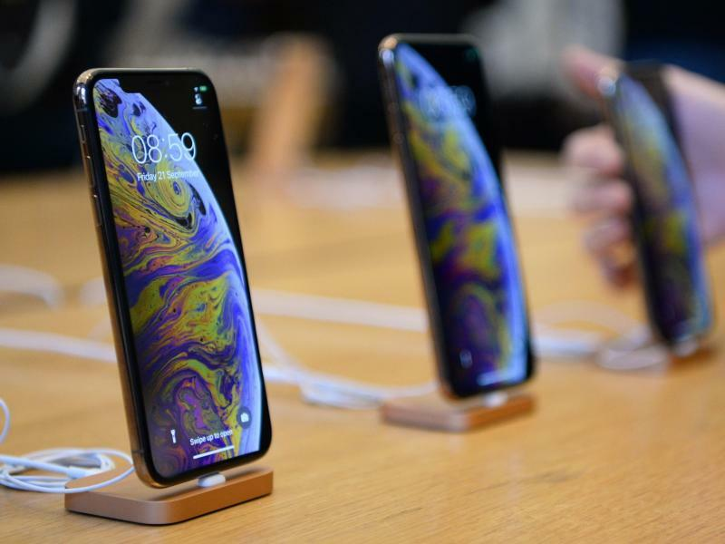 Apple-iPhone XS und XS Max - Foto: Kirsty O'connor/PA Wire