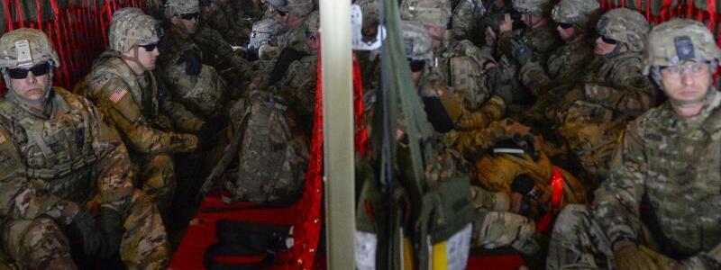 US-Soldaten - Foto: Senior Airman Alexandra Minor/U.S. Air Force/AP
