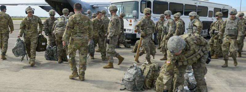 Grenzschützer - Foto: Senior Airman Alexandra Minor/U.S. Air Force/AP