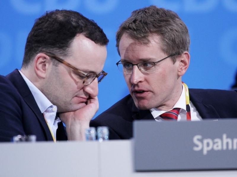 Jens Spahn und Daniel Günther - Foto: über dts Nachrichtenagentur