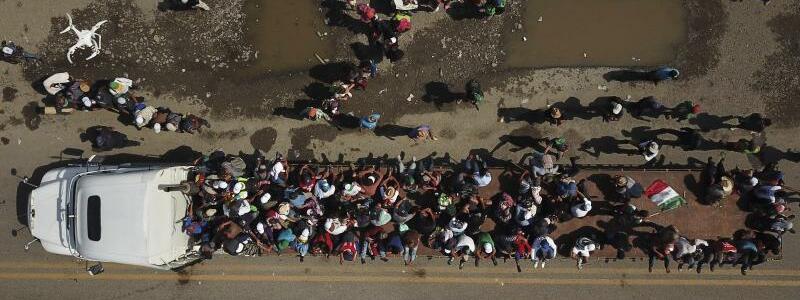 Auf dem Weg nach Norden - Foto: Santiago Billy/AP