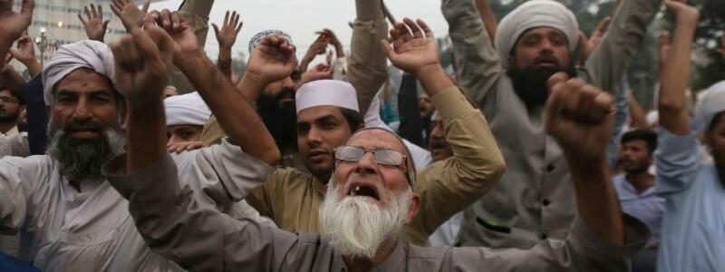 Proteste - Foto: K.M. Chaudary/AP