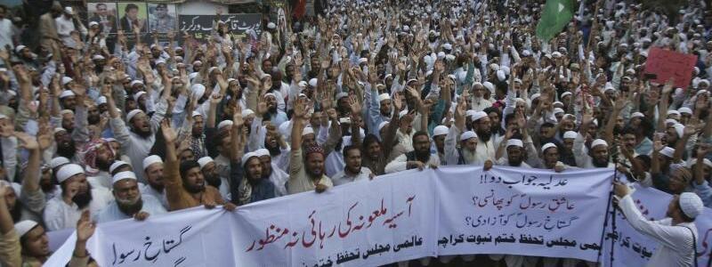 Wut in Karachi - Foto: Fareed Khan/AP
