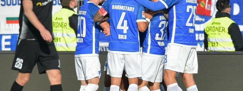 Darmstadt 98 - 1. FC Magdeburg - Foto: Uwe Anspach