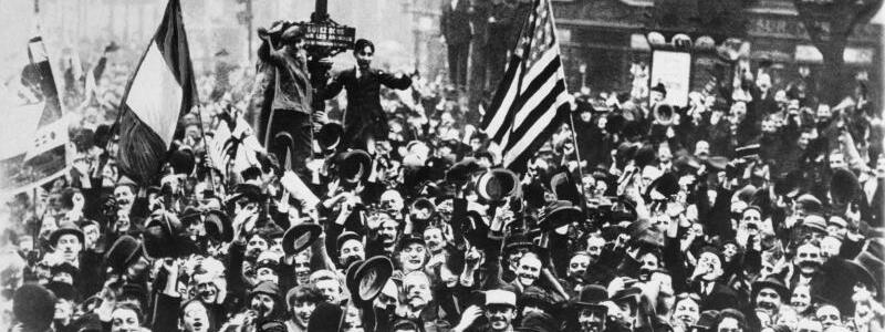 Waffenstillstand 1918 - Foto: U.S. Army Signal Corps/AP