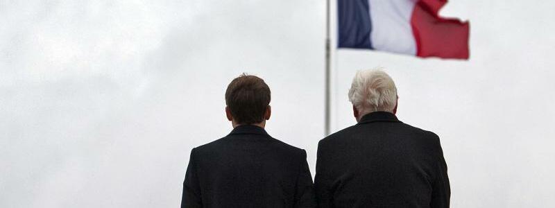 Macron und Steinmeier - Foto: Bernd von Jutrczenka