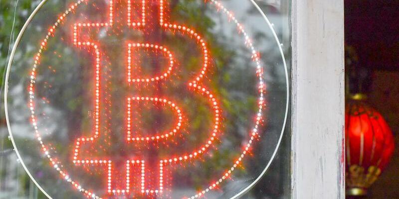 Bitcoin-Logo - Foto: Jens Kalaene