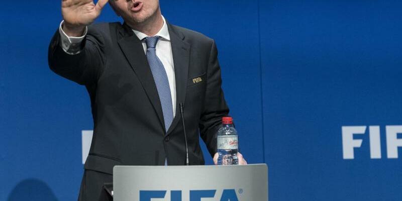 FIFA-Präsident - Foto: Ennio Leanza/KEYSTONE