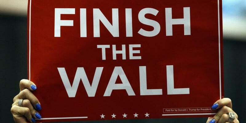 Für Grenzmauern - Foto: Carolyn Kaster/AP