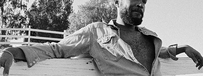 Marvin Gaye - Foto: Marvin Gaye 1978 im Topanga Canyon (Los Angeles). Foto:2018 Bruce W. Talamon