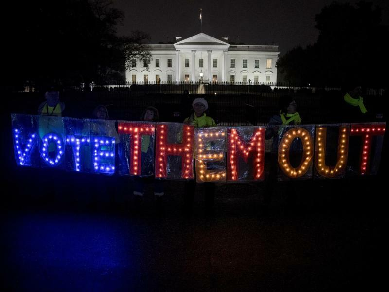 Wahlkampf auf Hochtouren - Foto: Andrew Harnik/AP