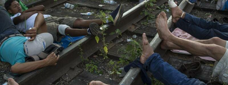 Migranten - Foto: Rodrigo Abd/AP