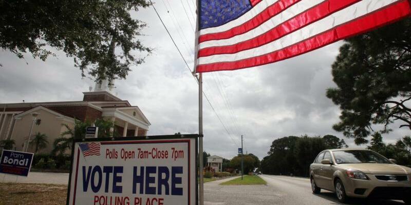 US-Zwischenwahlen - Foto: Jim Hollander, epa/Archiv