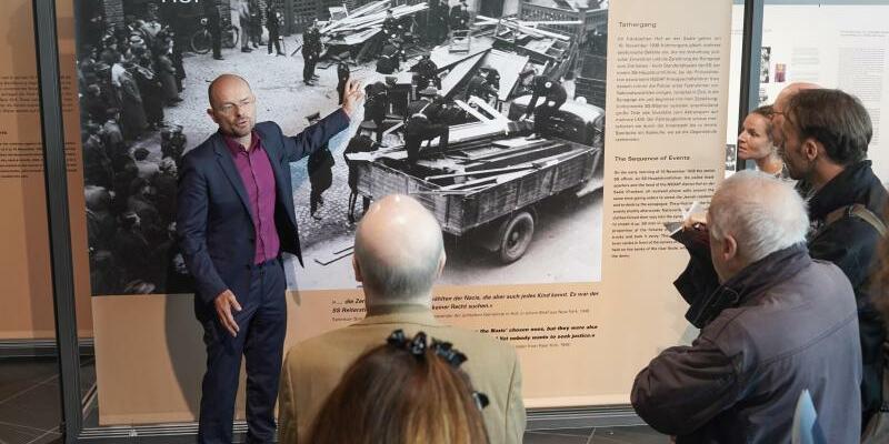Ausstellung «Kristallnacht» - Foto: Jörg Carstensen