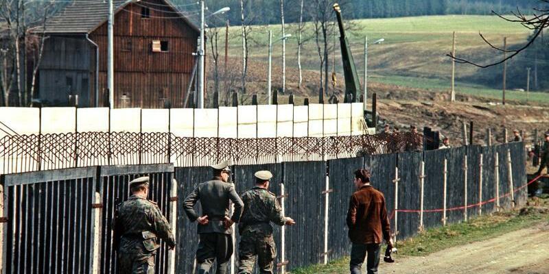 Innerdeutsche Grenze - Foto: Karl Schnoerrer/Archiv
