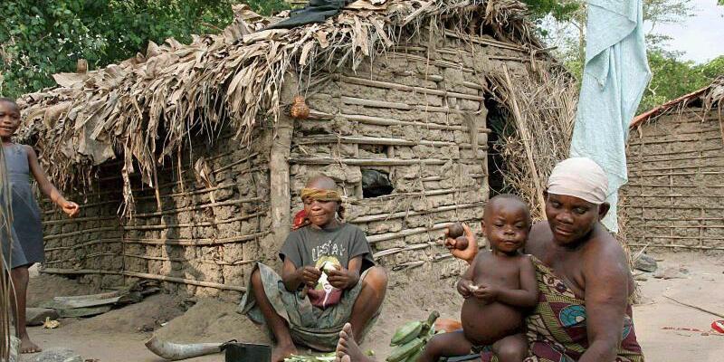 Pygmäen in Uganda - Foto: Helena Landstedt/EPA/Archiv