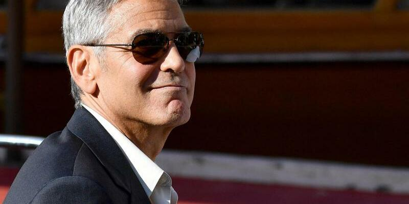 George Clooney - Foto: Ettore Ferrari/ANSA/AP