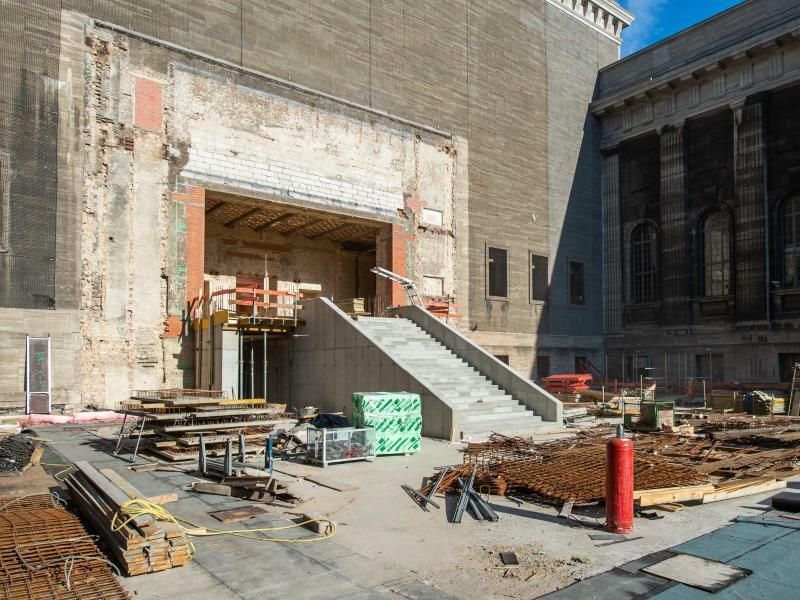 Sanierung des Pergamonmuseums - Foto: Arne Immanuel Bänsch