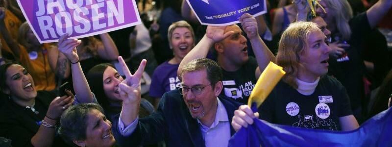 Große Freude - Foto: John Locher/AP